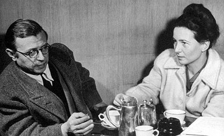 Sartre and de Beauvoir in 1946