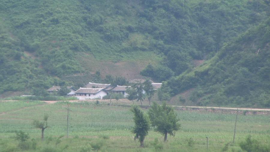 Outskirts of Manpo, Jagang province, North Korea (photo by Adam Cathcart)
