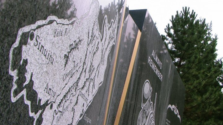 General George T. Stratemeyer and his fleet of B-52s with napalm burnt down Sinuiju in 1950; Korean War Memorial in Missoula