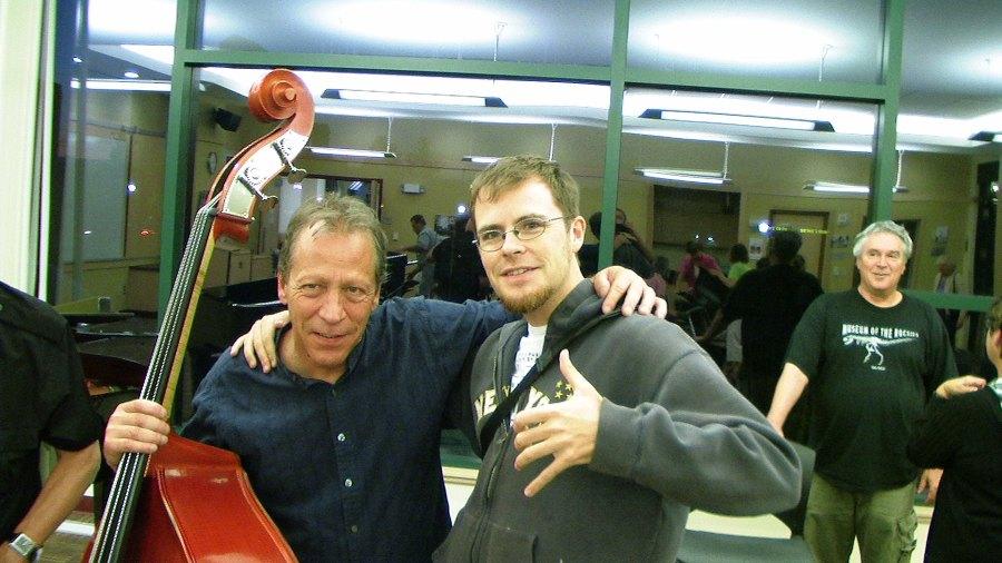 Unity of clef: Bassist phenom Kelly Roberti in Bozeman, Mt., with Adam Cathcart.