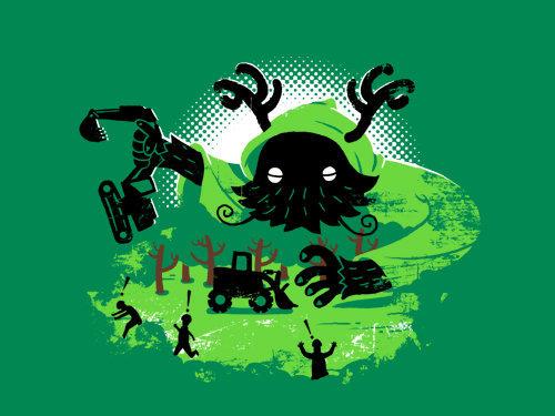 """""""滾出森林get out of the forest"""" via 阿濱 [click image for gallery link]"""