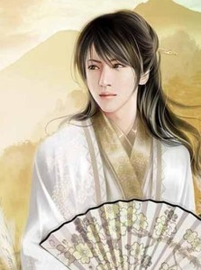 """Wei Jie (卫玠), literally """"Protector of the Jade Tablets,"""" from the Three Kingdoms period"""