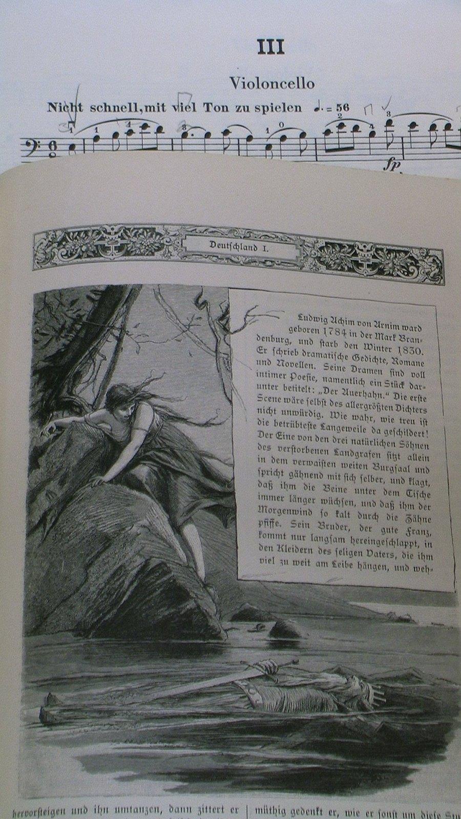Etching from Heinrich Heine's _Deutschland_ in the old-script perfection of _Heine's Werke_, Band 3, s. 229.