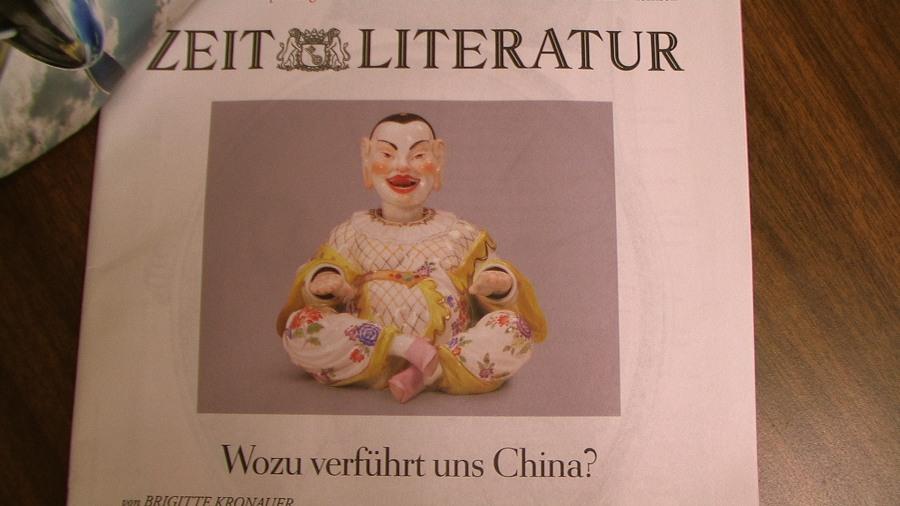 Die Zeit, Literature Supplement in anticipation of Frankfurt Book Fair, Oct. 8 2009