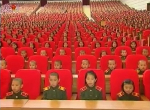 Pyongyang, October 12, 2012 - Image via NK Leadership Watch