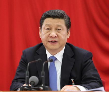 Xi Jinping; via Xinhua