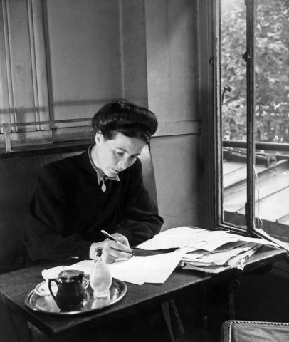Simone de Beauvoir; sparks from the proverbial forge