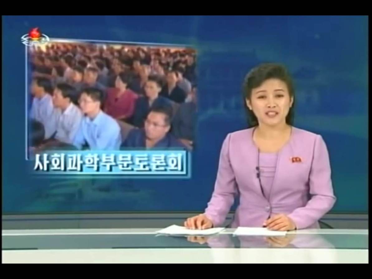 30 September 2014, North Korean Central TV