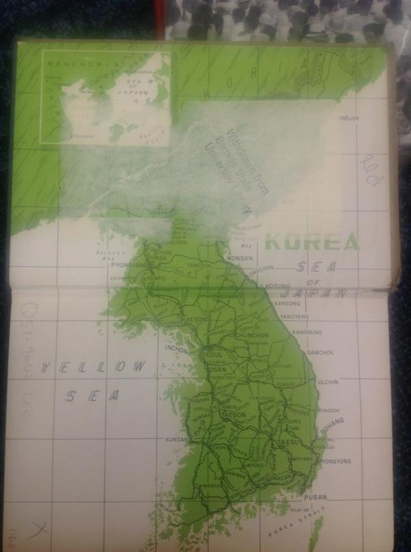 Korea Map Book York