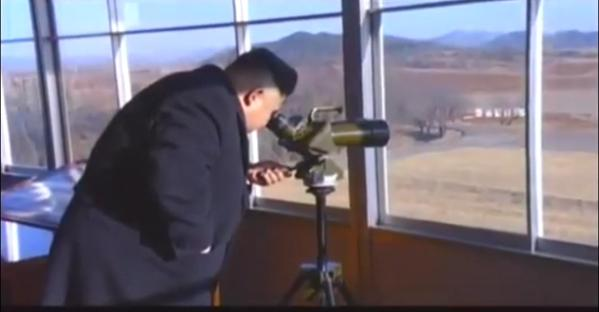 Kim Jong Un anti tank drill January 2015