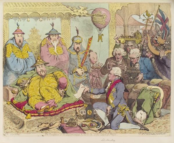 Macartney in Peking 1793