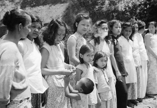 US Army photo of comfort women, via Truthout