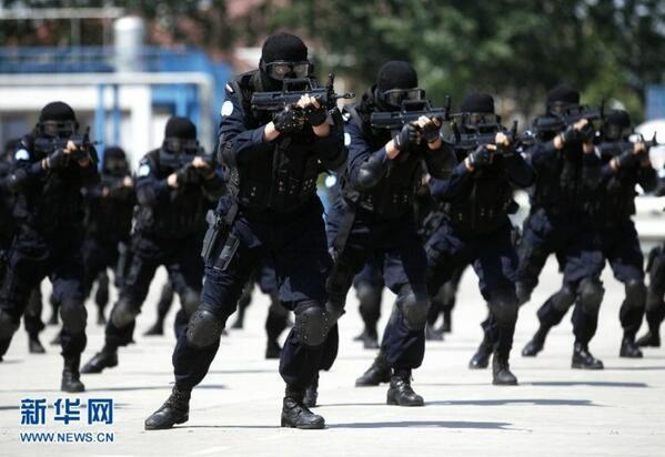 Counterterrorism in China, Langfang, 2014