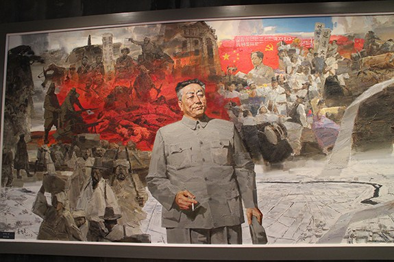 Chu-Dok-hae-in-Yanbian-Museum-Mural-SNK