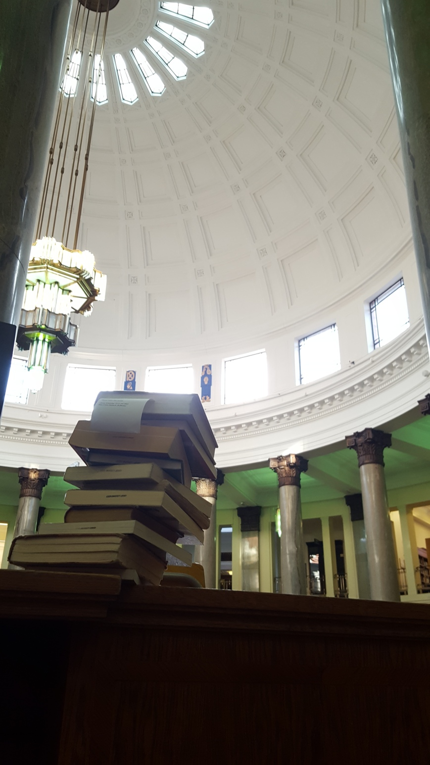 Parkinson Library, University of Leeds, 24 July 2017, photo by Adam Cathcart